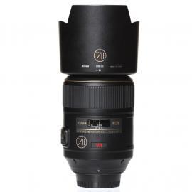 Nikon Lens AF-S Micro Nikkor 105mm 2,8G ED VR