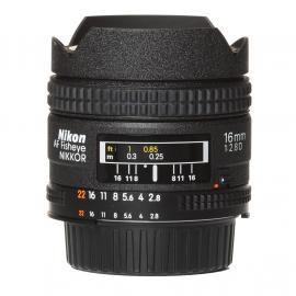 Nikon Lens AF 16mm 2,8D Fisheye