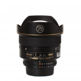 Nikon Lens AF Nikkor 14mm 1:2,8D ED