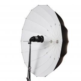 Schirm 130cm weiß L