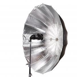 Schirm 130cm silber L