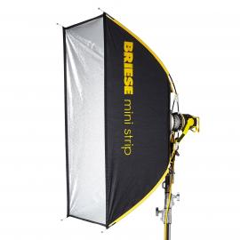 Briese kit Mini Strip Flash 60x130cm avec torche