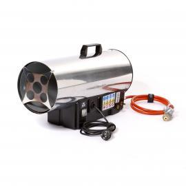 Heizstrahler mit Ventilator (Gasbetrieb+220V)