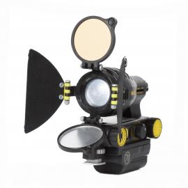 Dedolight Ledzilla auf Canon Akku LP-E6