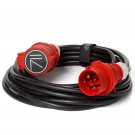 CEE 32A rallonge triphasée (rouge) 15m / Extension cord