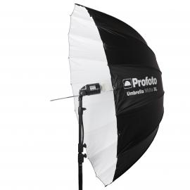 Umbrella 165cm Deep white XL