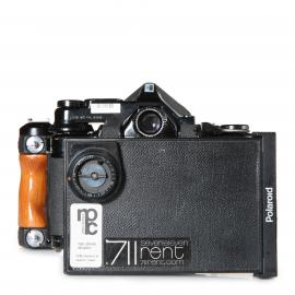 Pentax Body with Polaroidback and viewfinder