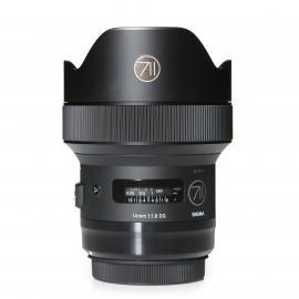 Canon Lens Sigma Art 14mm 1,8 DG HSM