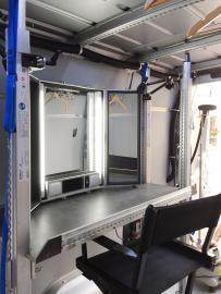 Crafter 3-Sitzer/Transporter HH-AX 711 mit 20KVA Einphasen-Generator, max Zuladung 900KG (incl. 200km)