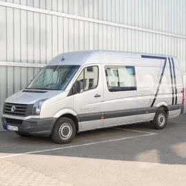 Crafter Volkswagen 14m3 avec groupe 20kW (1x32A tri  - Charge max 900KG)