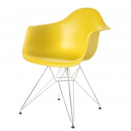 "Chair ""vitra Eames"" yellow"