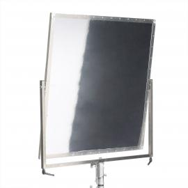 Shiny Board 1x1m silver