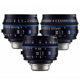 Zeiss CP.3 Set of 3 lenses  PL mount