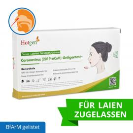 Hotgen Novel Coronavirus 2019-nCov, Antigen Rapid Test - (Single Set)