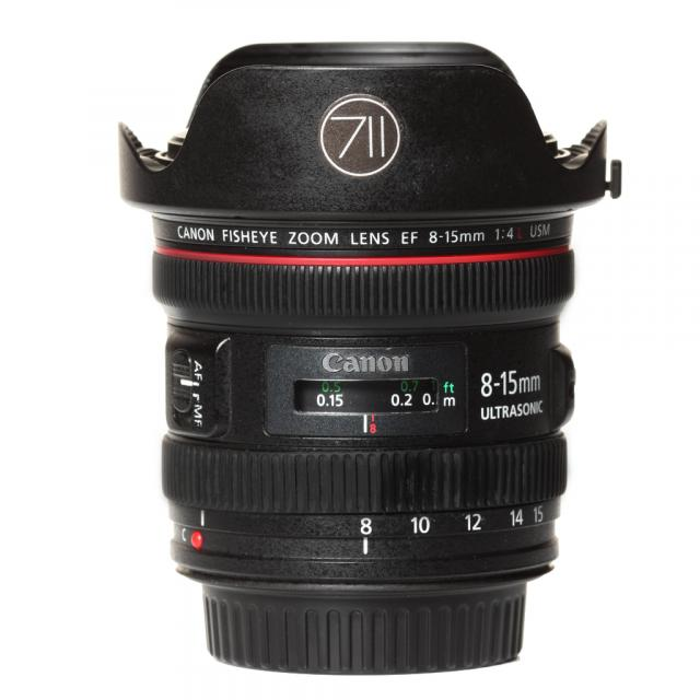 Canon Objektiv EF 4,0/8-15mm L Fisheye USM