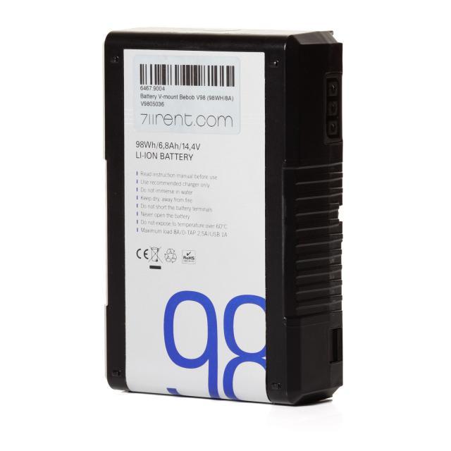 Battery V-mount Bebob V98 (98WH/8A)