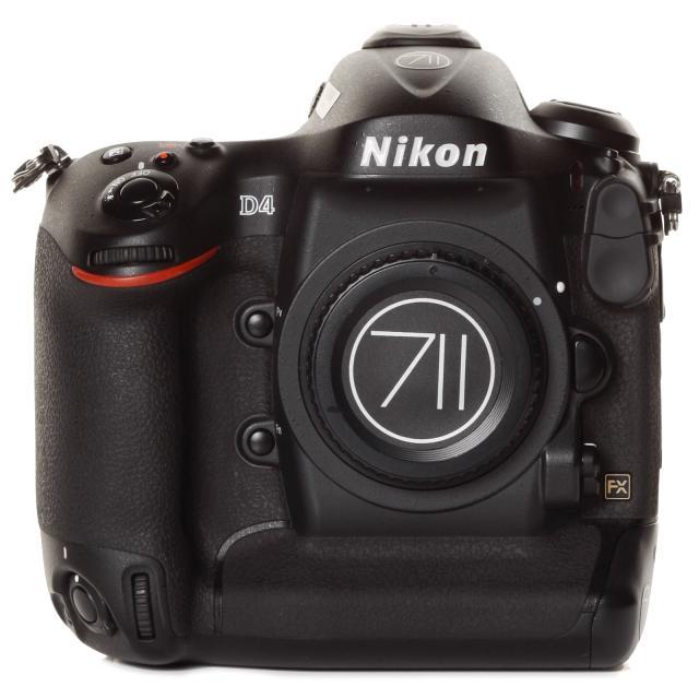 Nikon D4 Body 16,2 MP.