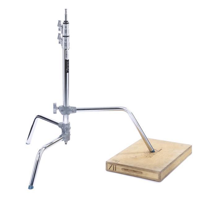 """C-Stand Sliding leg 30""""  (min.110cm max.253cm  max.10kg)"""