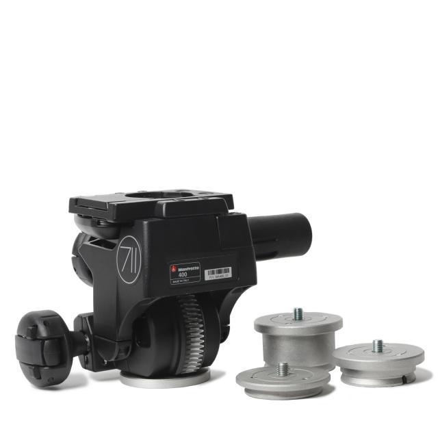 Manfrotto Three-Way Head 400 Super Pro 3D Gear (max. 10kg)