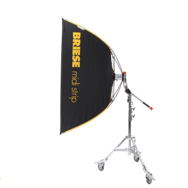 Briese kit Midi Strip Flash 70x170cm avec torche