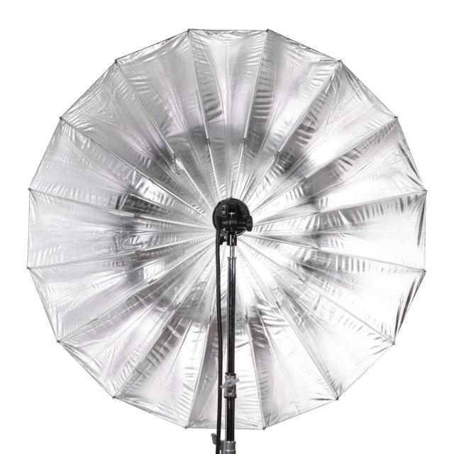 Parapluie Deep argent 165cm /Umbrella XL silver