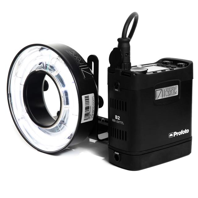 711rent Ringflash compatible Profoto OCF B2