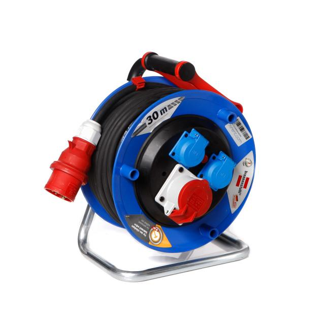 CEE 16 A powercord reel 30m