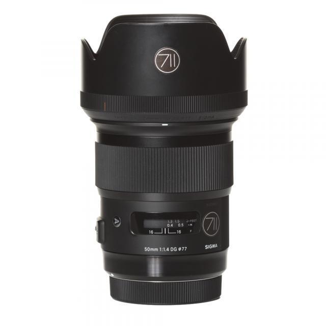 Nikon Lens Sigma Art 50mm 1,4