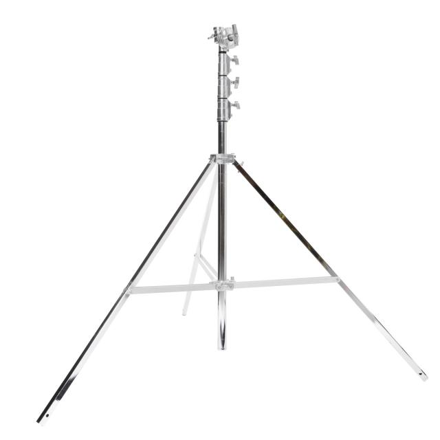 Lampstand High Overhead A320 with integral Gobohead  (wide base, max. 5,57m, max.40kg)