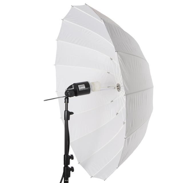 Paraguas L 130cm Deep translúcido
