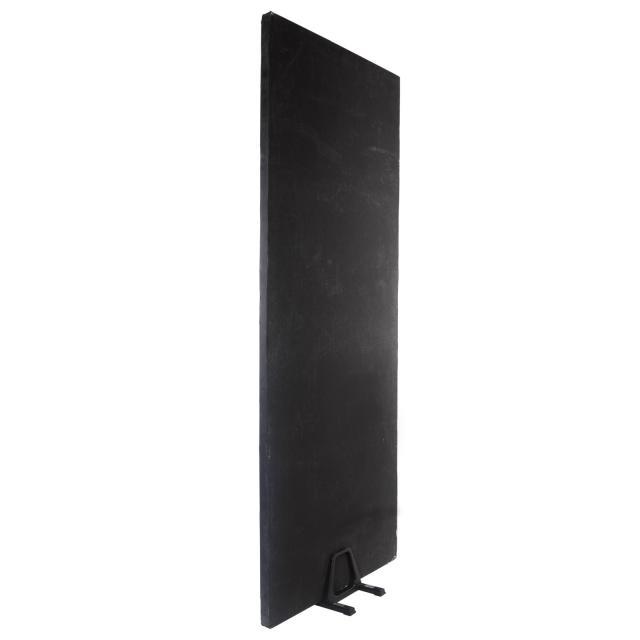 Styroplatte 1x2,5m schwarz / weiss