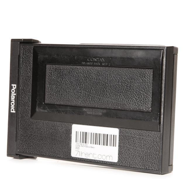 Contax 645 dos Polaroid