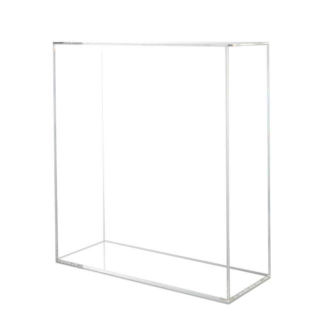 Plexi Cubus Clear 89x80,5x30,5cm