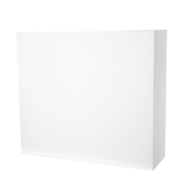 Plexi Cubus White 86x76x26cm