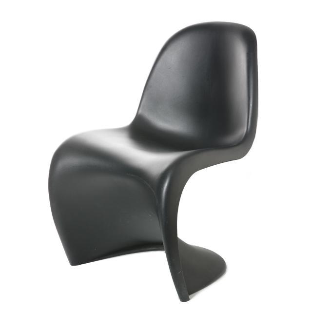 "Stuhl ""Verner Panton"" Schwarz"