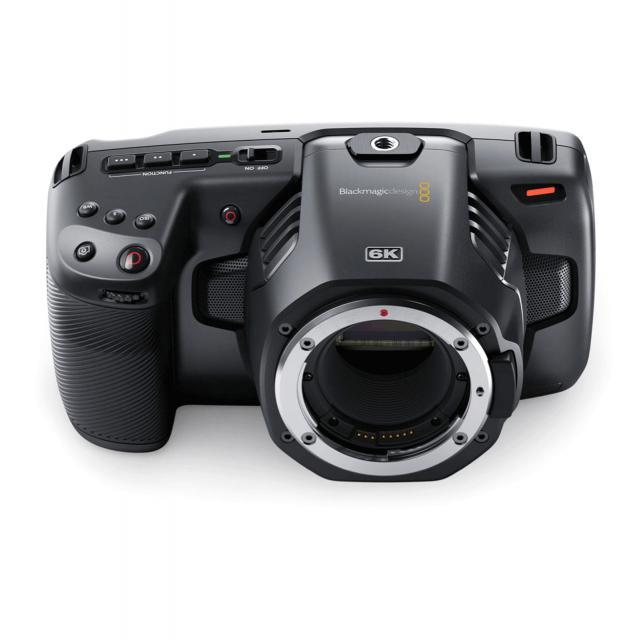 Blackmagic Pocket Cinema Camera 6k Ef Mount Set With Cage 711rent Com