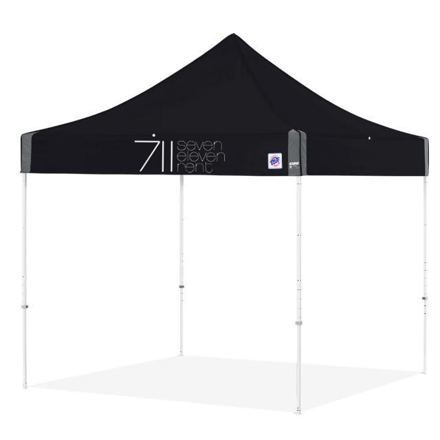EZ UP Tent Noire 3m x 3m