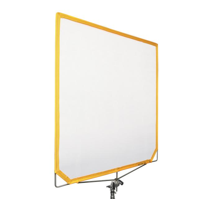 "Scrim Flag 48x48"" Artificial Silk (naranja)  (120x120cm)"