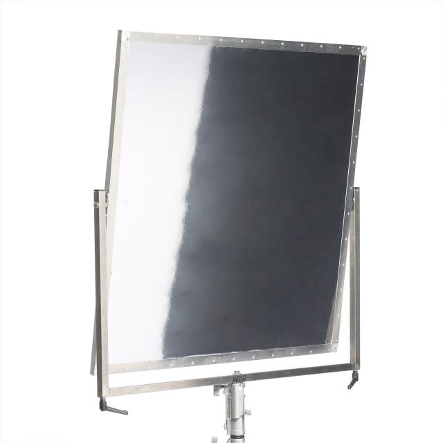 Shiny Board 1x1m silber