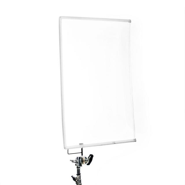 "Floppy/drapeau  1/4 Silk blanc 24x36"" (60x90cm)"