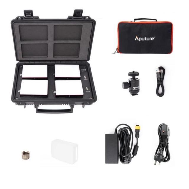 Aputure MC 4 Travel Kit
